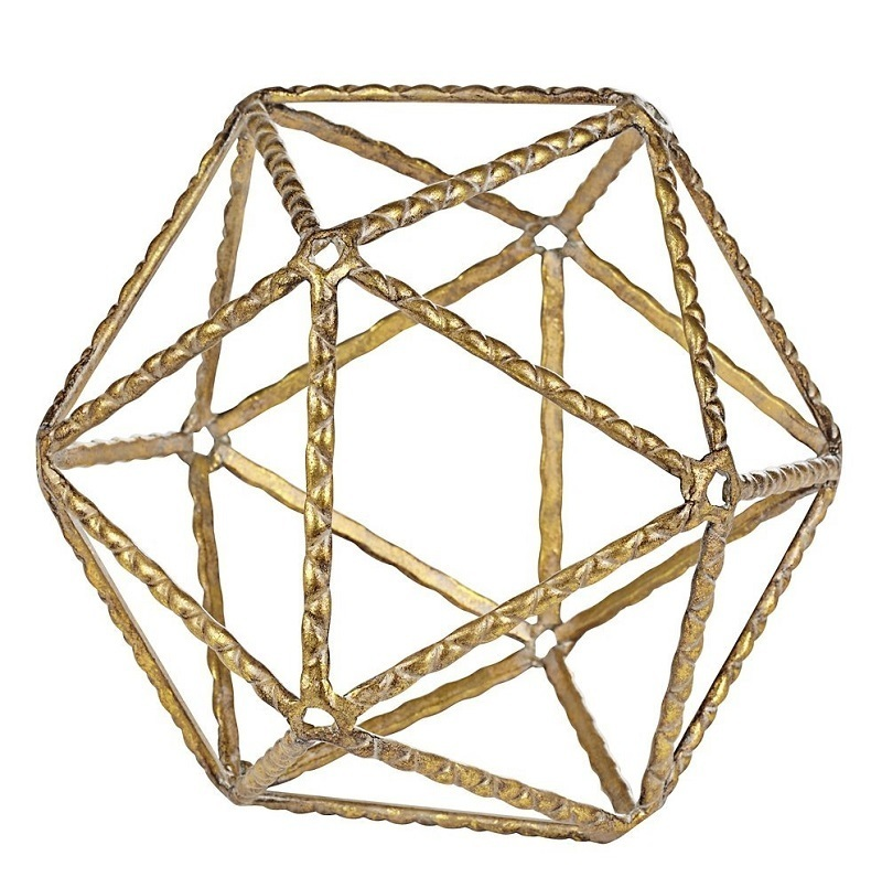 19-gold geometric ball-amazon