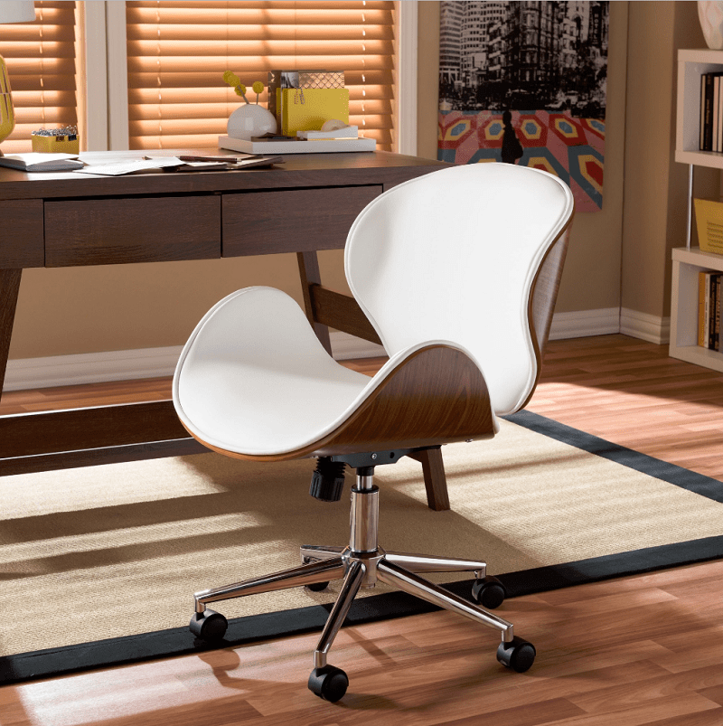 3-office-chairs-Baxton-Studio-Bruce-Walnut-Modern-Office-Chair-min