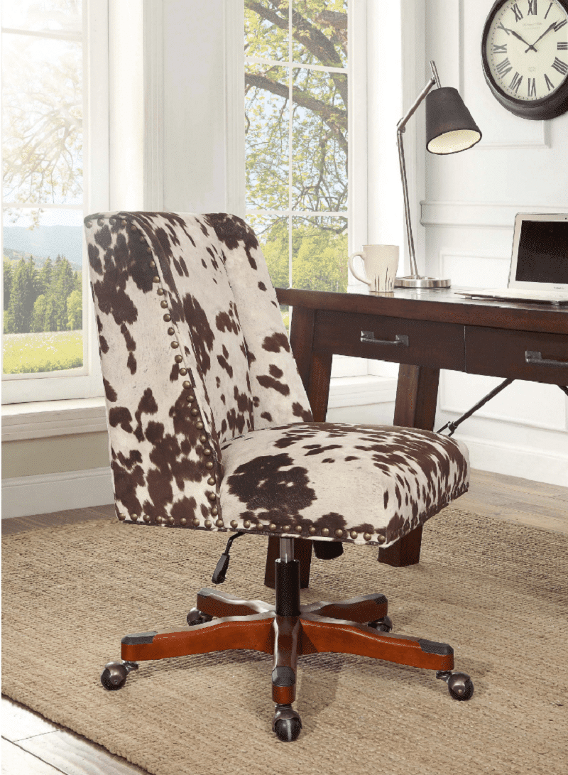 4-office-chairs-Oh-Home-Violet-Office-Chair-Brown-Print-min