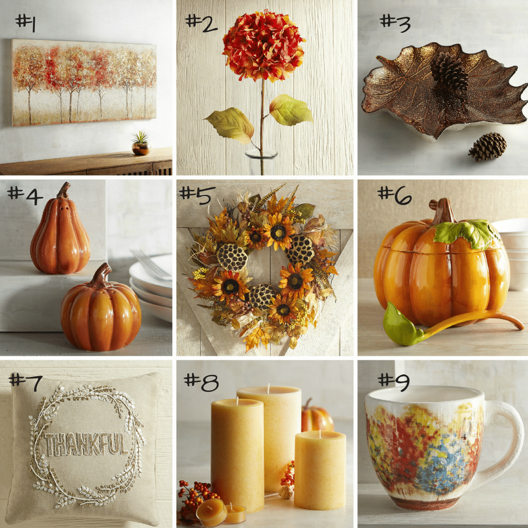 Fall Home Decor: Fall Home Decor: Here Are 9 Of My Favorite Options