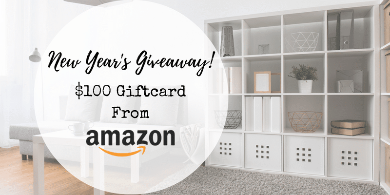 New year 2017 amazon gift card giveaway chic home life for New home giveaway