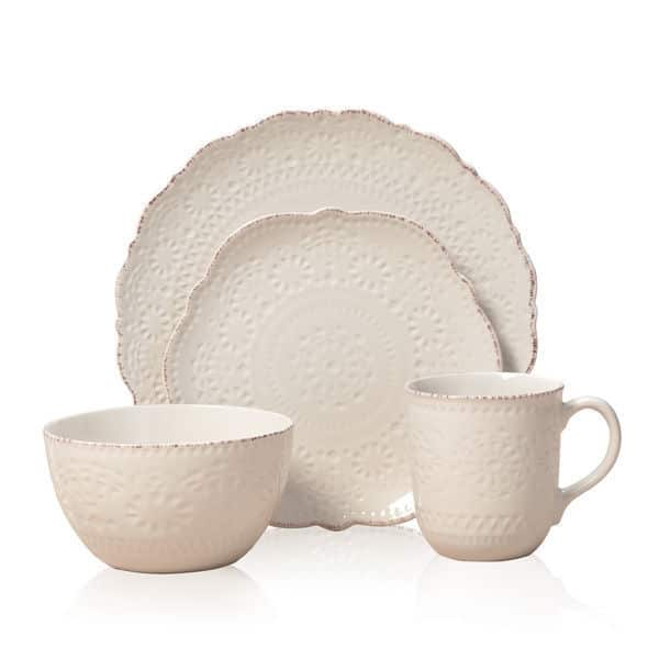 Pfaltzgaff-Everyday-Chateau-Cream-16-Piece-Dinnerware-Set