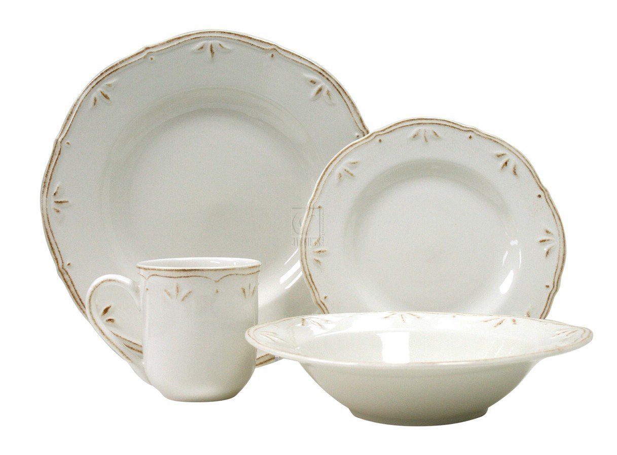 Thomson pottery Sicily White set