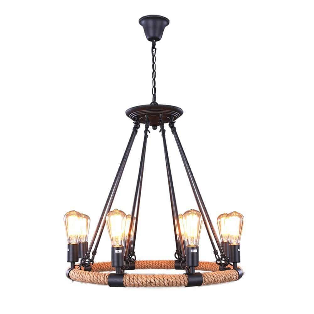 industiral vintage chandelier_11