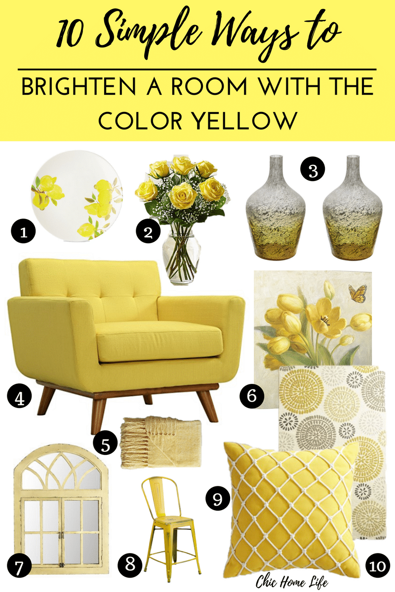 10 simple ways to brighten a room