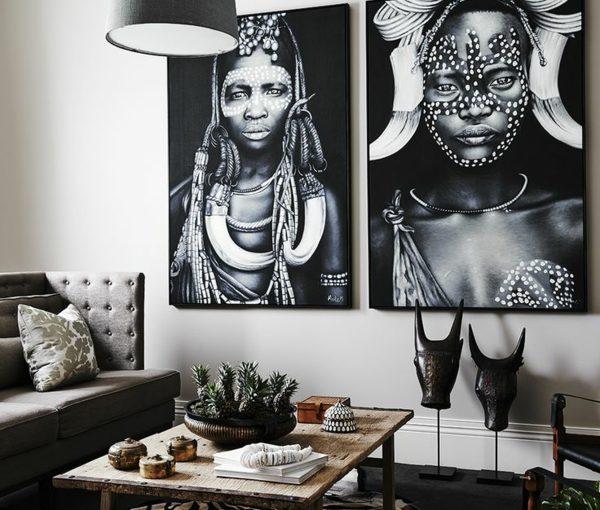afrika-deko-inspiration-wanddeko-ideen-teppich-zebrra-muster
