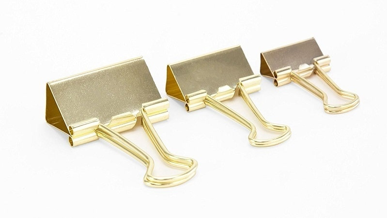 10-gold binder clips-amazon