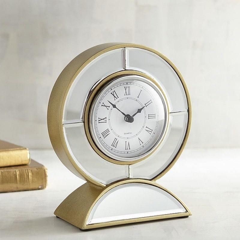 20-gold desk clock-pier1