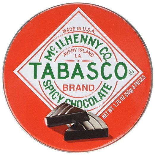 22 tabasco spicy dark chocolate