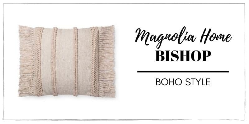 MAGNOLIA BISHOP PILLOW