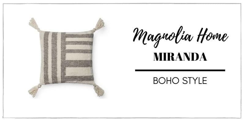 MAGNOLIA MIRANDA PILLOW