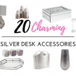 Your Desk Will Not Be Complete Until You Add These Silver Desk Accessories