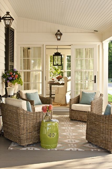 Keep cats off porch furniture