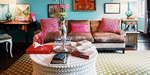 How To Use Color In A Bohemian Styled Room