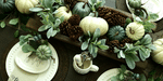 My Simple & Rustic Fall Tablescape