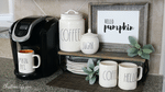 Fall Coffee Bar Organization Ideas