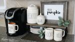 Fall Coffee Bar Organization Ideas