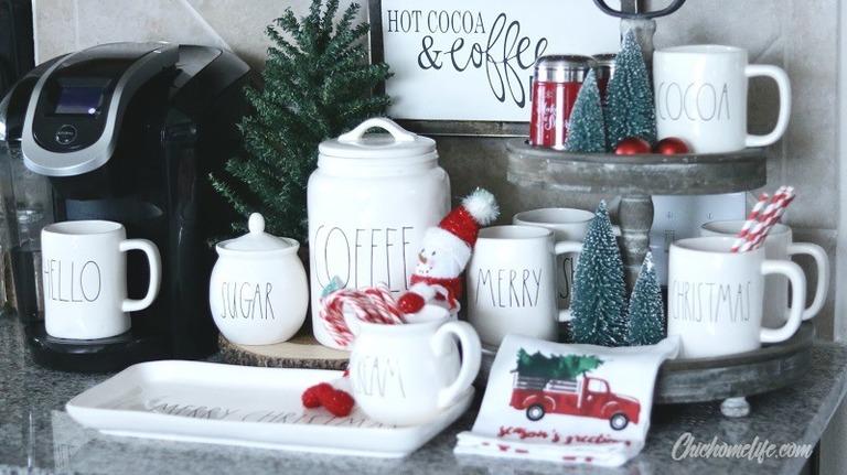 Christmas coffee bar-1