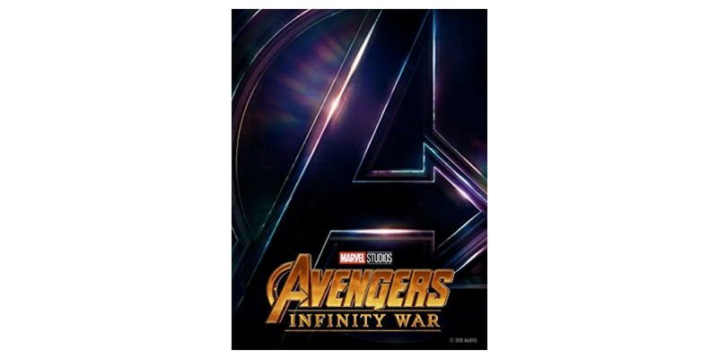 Avengers infinity wars dvd