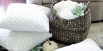 9 Gorgeous Textured Throw Pillows Perfect For Fall
