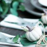 How to Create A Beautiful Fall Pocket Napkin