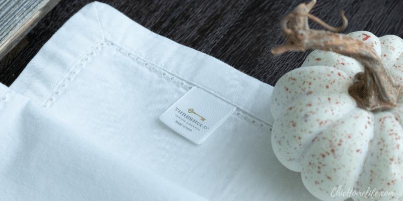 target threshold napkin