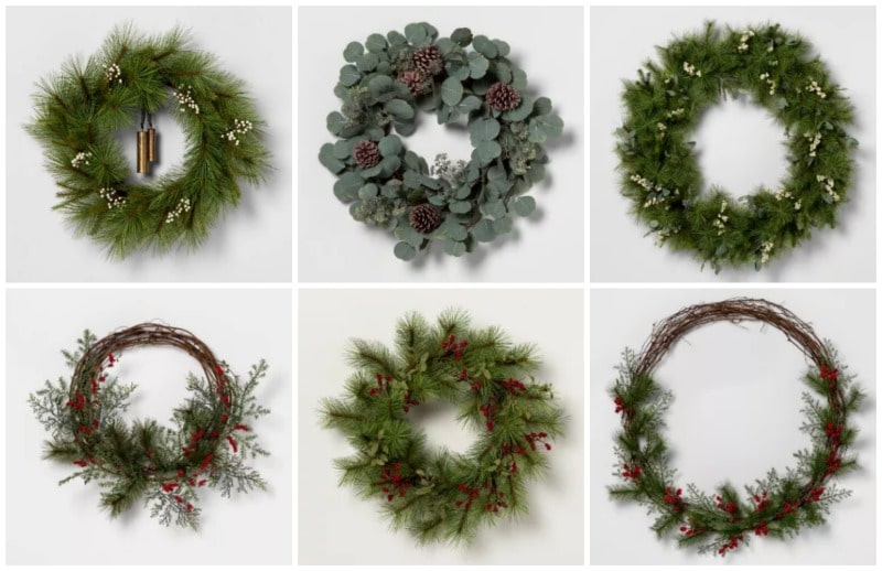 hearth and hand with magnolia wreaths