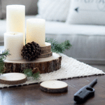 5 Inexpensive Ways To Add Winter Decor To Your Family Room.