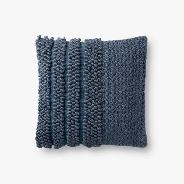 Magnolia Home Fritz Navy Pillow
