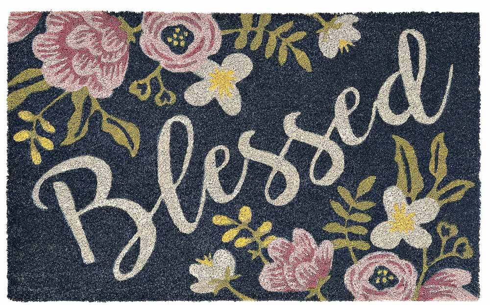 floral-blessed-doormat
