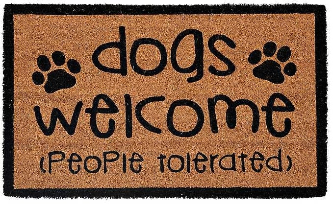 dog-welcome-people-tolerated-doormat