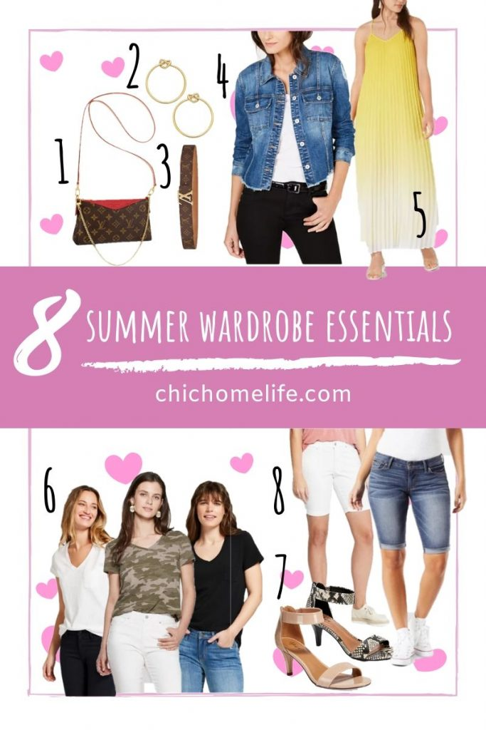 8 summer wardrobe essentials
