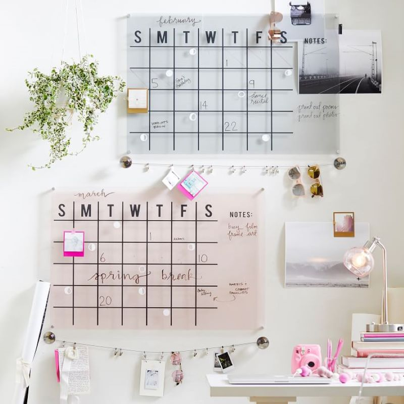 acrylic-monthly-calendar-blush-rose-gold