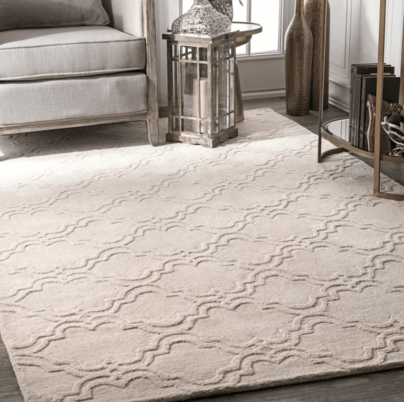 alonza ivory neutral area rug