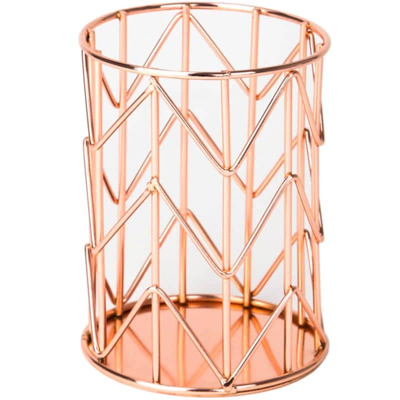 copper-pencil-holder