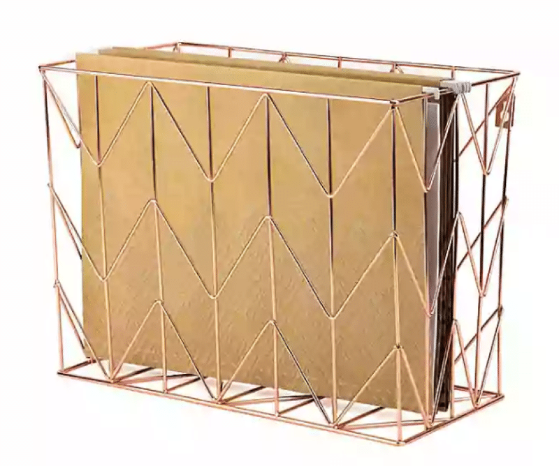 copper-wire-hanging-file-basket