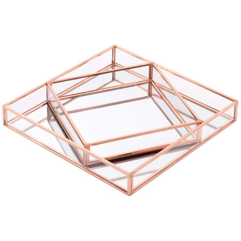 rose-gold-mirror-tray-set