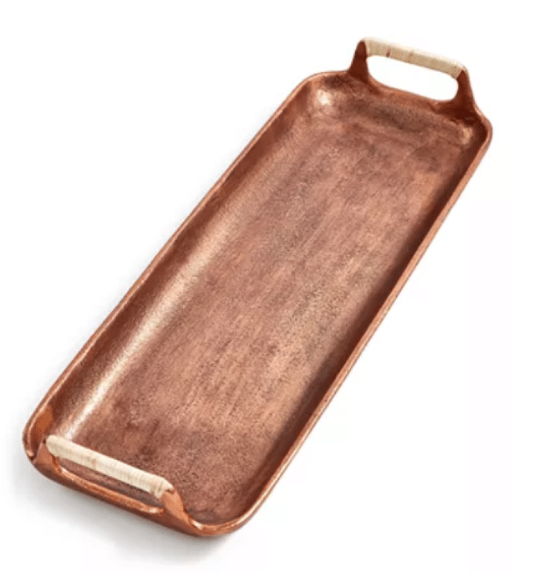 small-textured-copper-metal-serving-tray
