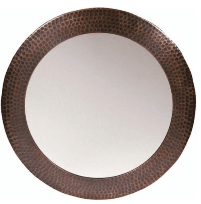 solid-hammered-copper-framed-round-mirror