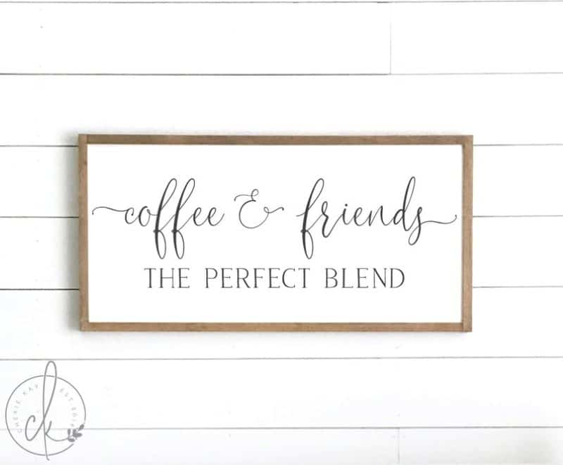 coffee & friends, the perfect blend