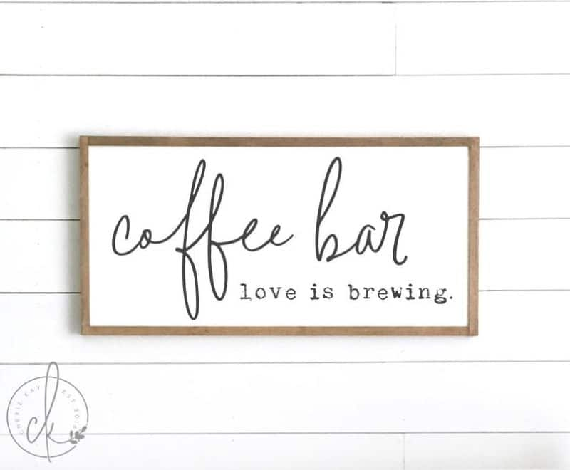 Coffee Bar, love is brewing