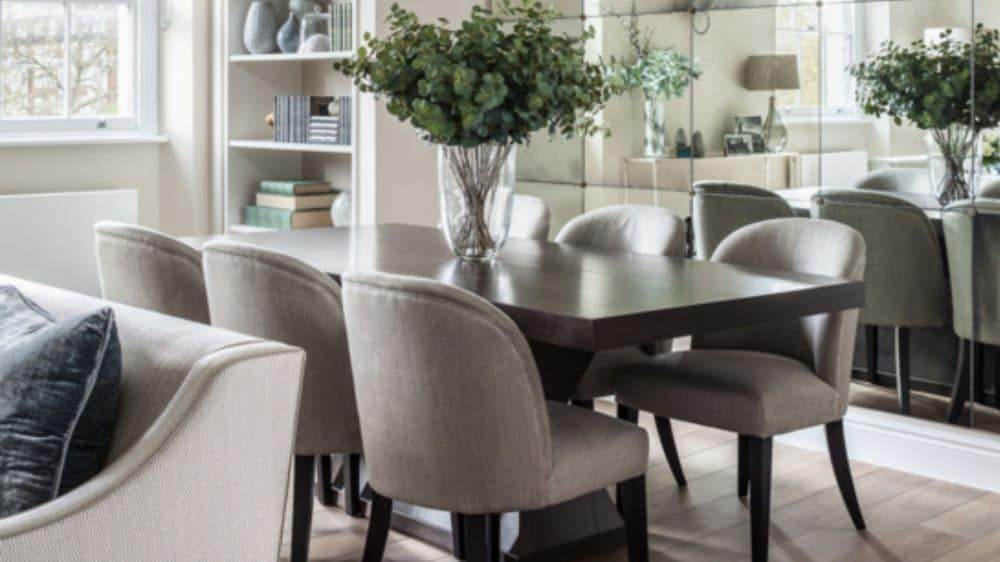 How To Arrange Furniture In A Living & Dining Room Floor ...
