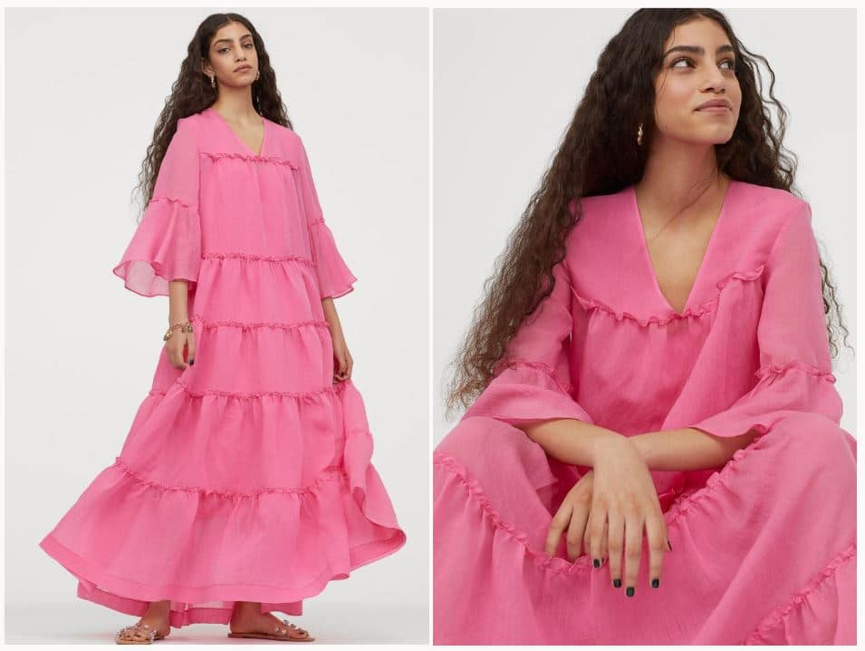 H&M's Wide-Cute Tiered Dress