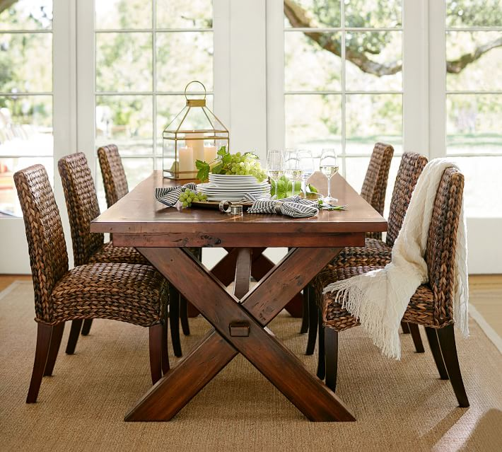 Toscana-Extending-Dining-table- Seagrass-Chair