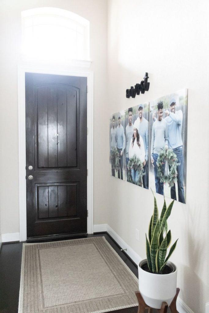 canvas prints entry way 2