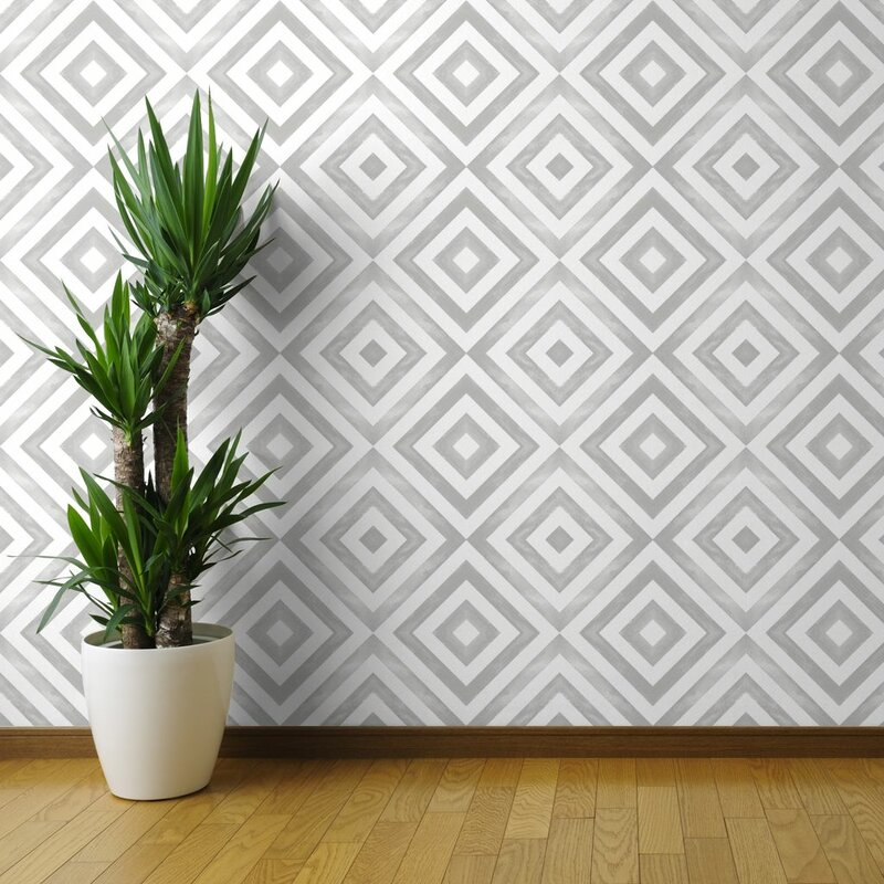 Cory Geometric wallpaper design