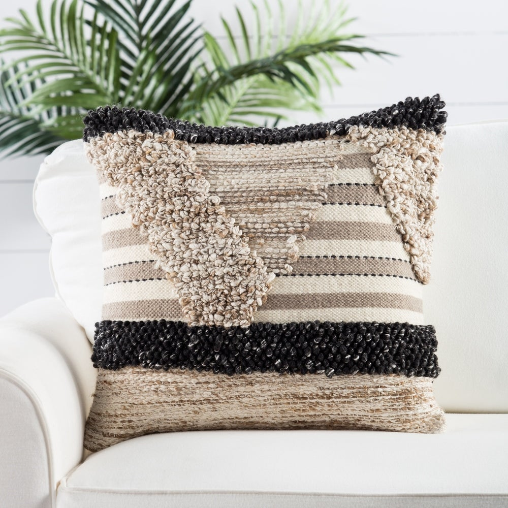 helm geometric throw pillow